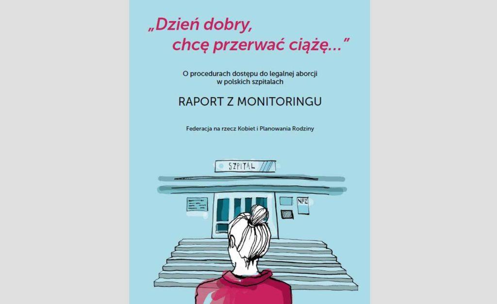 Aborcja w szpitalu - raport o dostępności