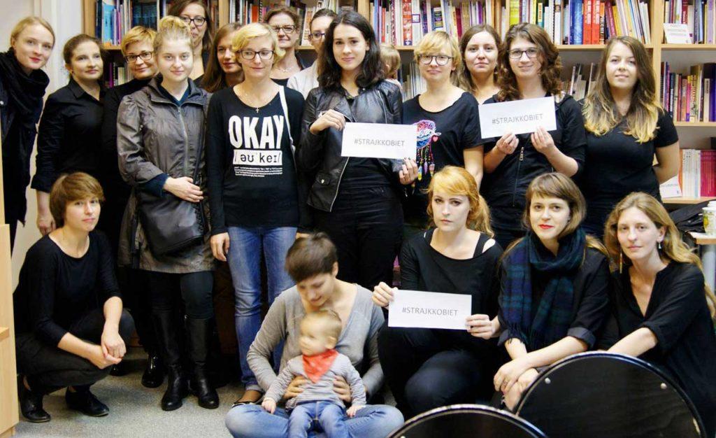 Dzień Otwarty w Federacji. Czarny Protest/Ogólnopolski Strajk Kobiet