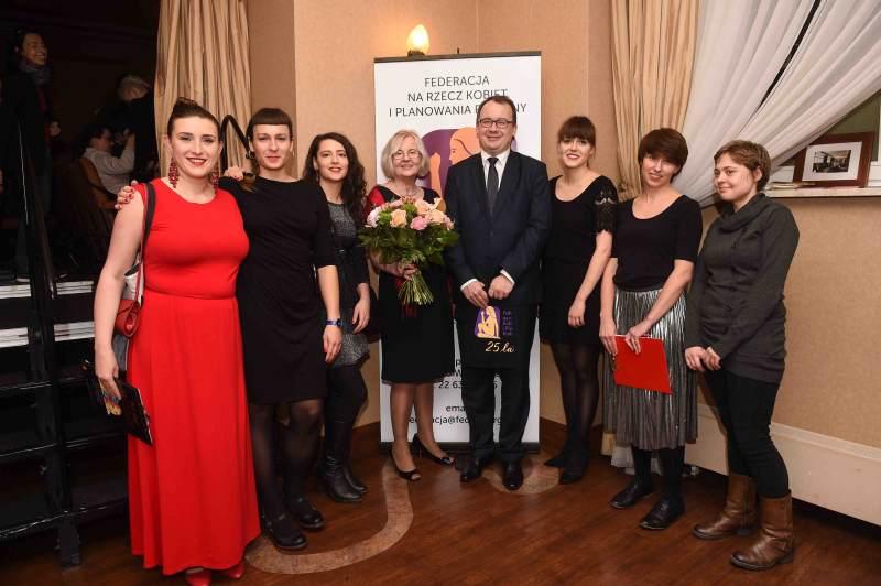 Gala 25-lecie Federacji na Rzecz Kobiet i Planowania Rodziny