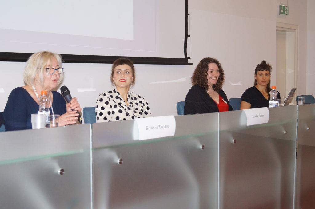 Zdjęcia z panelu na Kongresie Kobiet w Poznaniu 2017