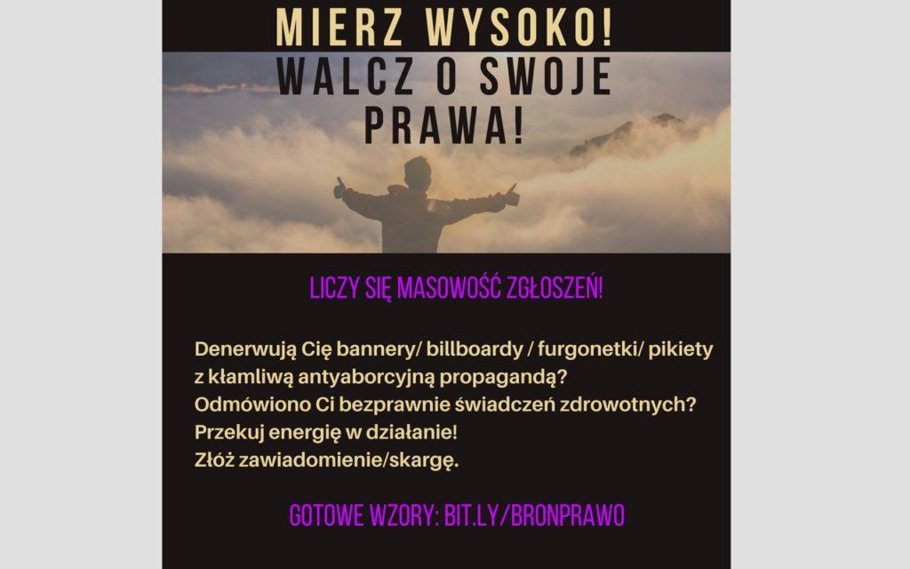ZAANGAŻUJ SIĘ! >> BROŃ PRAWA!