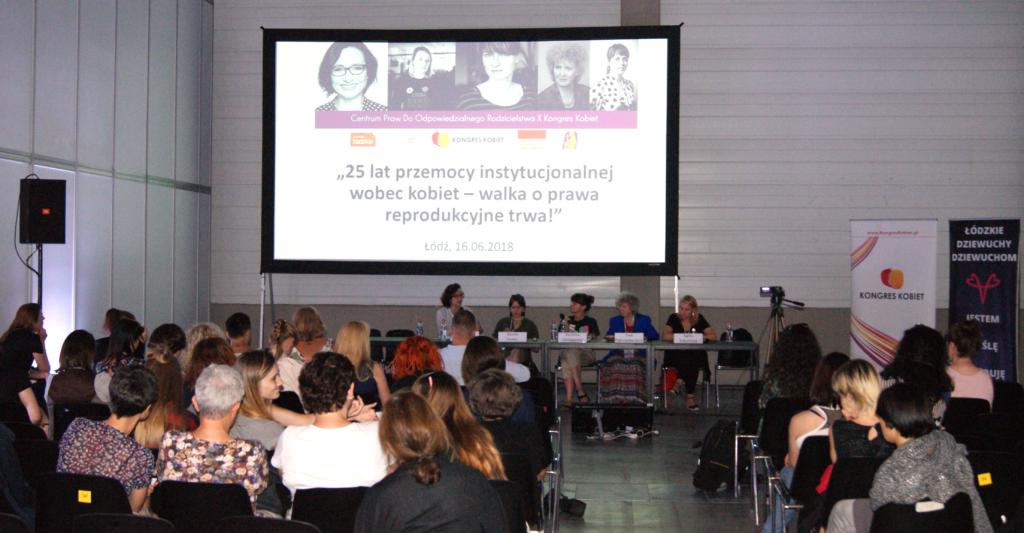 Panel o strategiach pro-choice na X Kongresie Kobiet