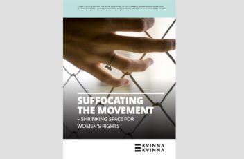 shrinking spaces for women's rights
