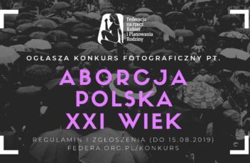 Konkurs fotograficzny Aborcja w kadrze