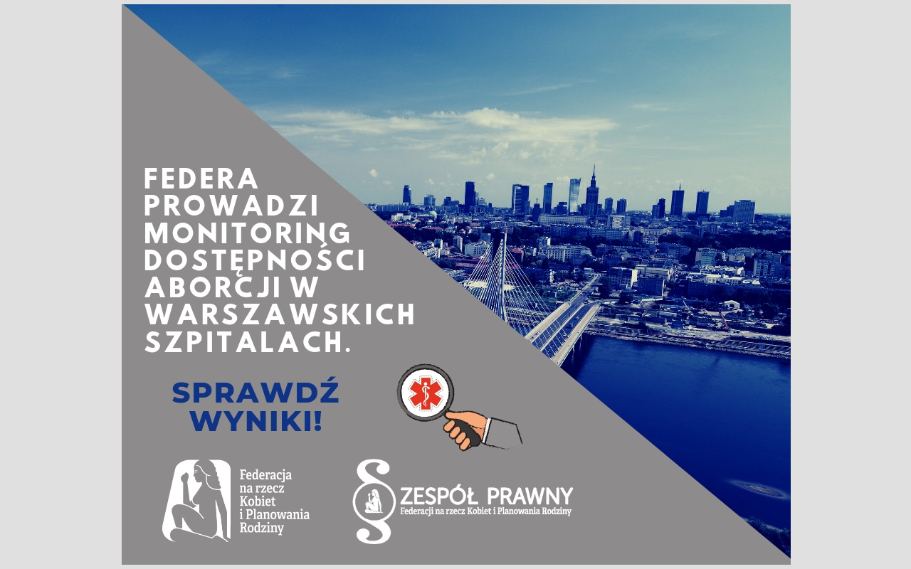 Monitoring dostępnosci aborcji w Warszawie