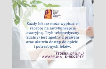 e-recepty antykoncepcja awaryjna