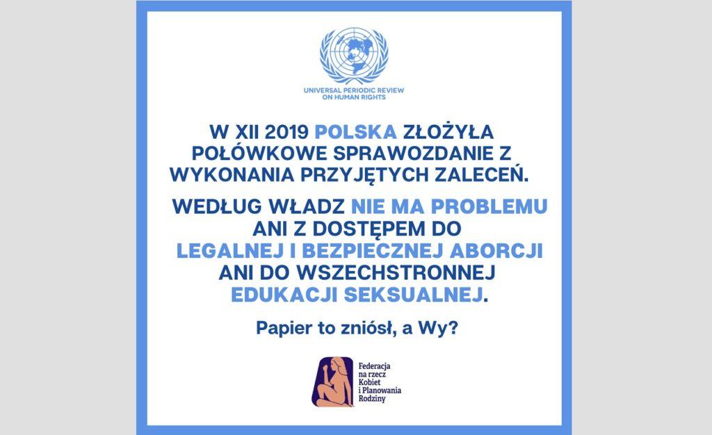 POLSKA A POWSZECHNY PRZEGLĄD OKRESOWY ONZ