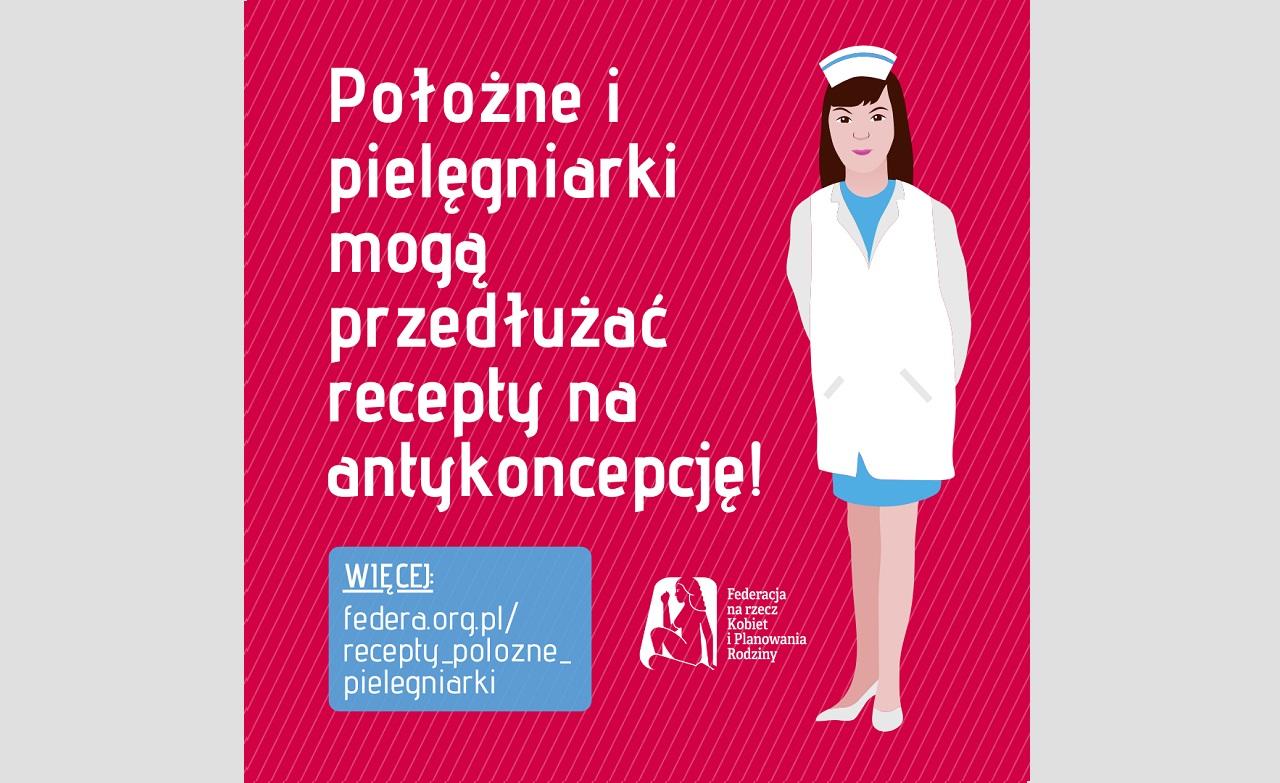 Położne i pielęgniarki mogą przedłużyć recepty na antykoncepcję!