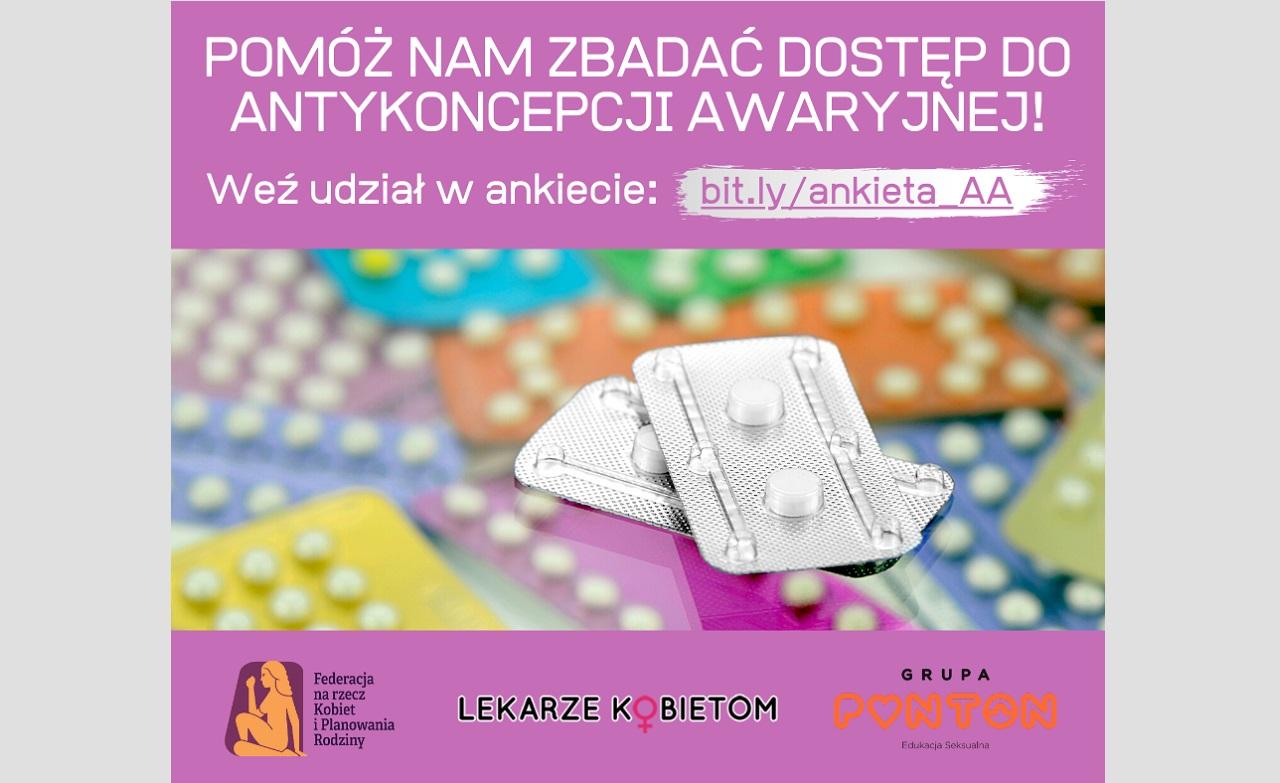 Badamy dostępność antykoncepcji awaryjnej – wypełnij ankietę
